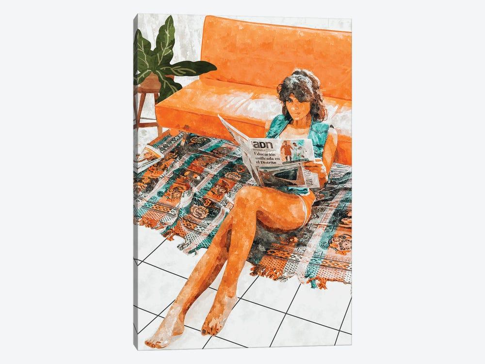 The Gossip Column by 83 Oranges 1-piece Canvas Wall Art