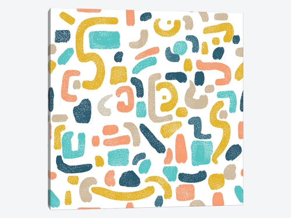 Alphabet Soup by 83 Oranges 1-piece Canvas Art