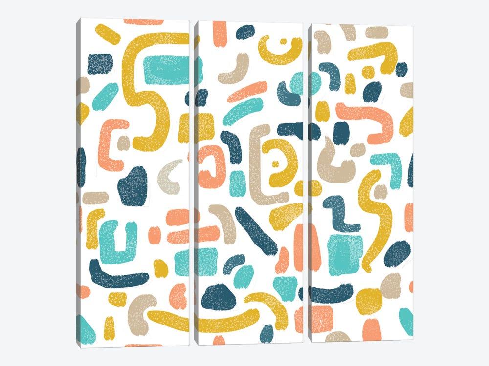 Alphabet Soup by 83 Oranges 3-piece Canvas Art