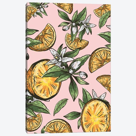 Lemon Crush Canvas Print #UMA763} by 83 Oranges Canvas Artwork