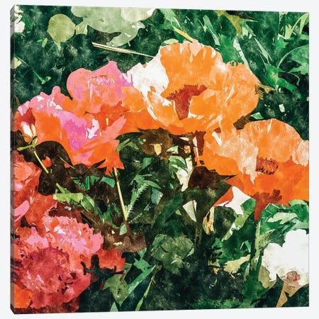Blossoming Florals Canvas Print #UMA764} by 83 Oranges Canvas Print
