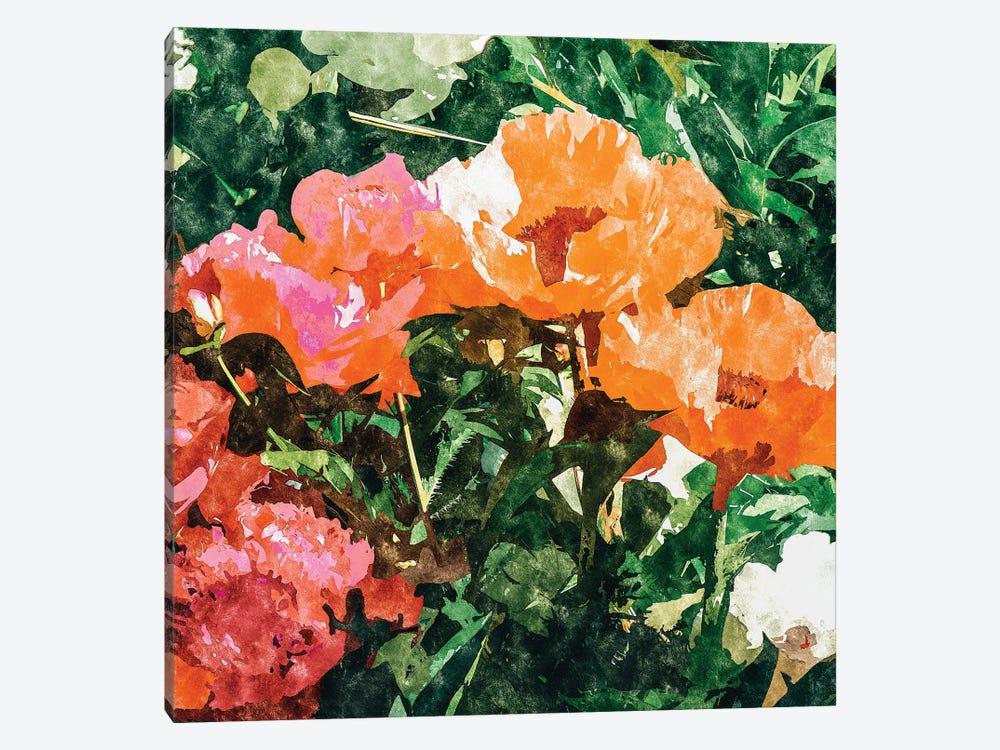 Blossoming Florals by 83 Oranges 1-piece Canvas Art Print