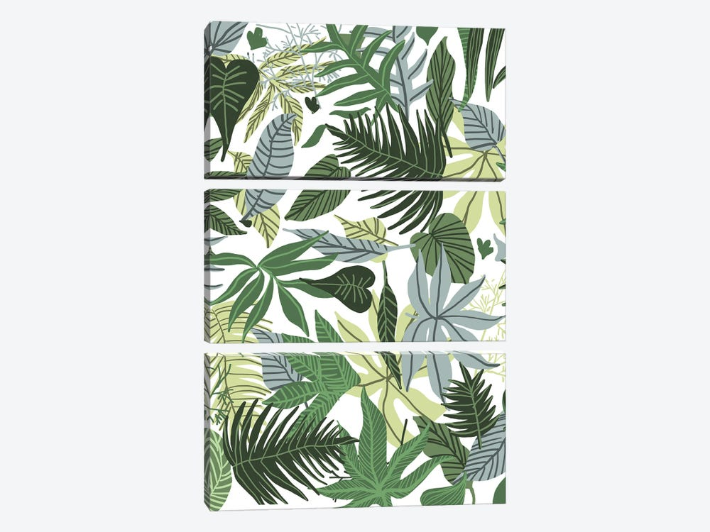 In The Jungle by 83 Oranges 3-piece Canvas Art Print