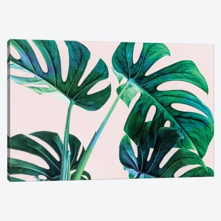 Wild Leaves Canvas Print #UMA797} by 83 Oranges Canvas Artwork