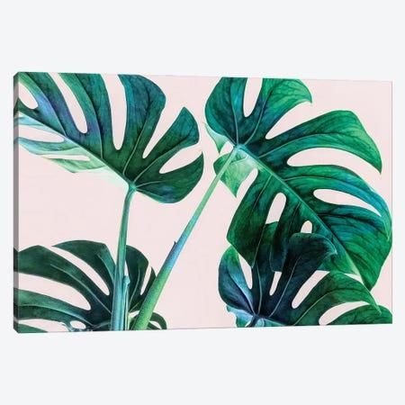 Wild Leaves Canvas Print #UMA797} by 83 Oranges Canvas Artwork