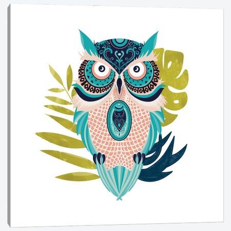 Moon Eyed Owl Canvas Print #UMA798} by 83 Oranges Canvas Art Print