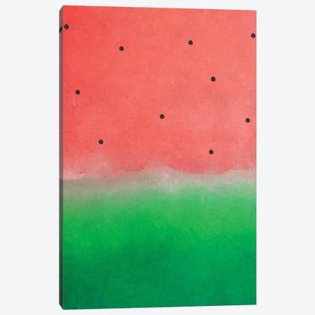 Watermelon Washout Canvas Print #UMA79} by 83 Oranges Canvas Artwork