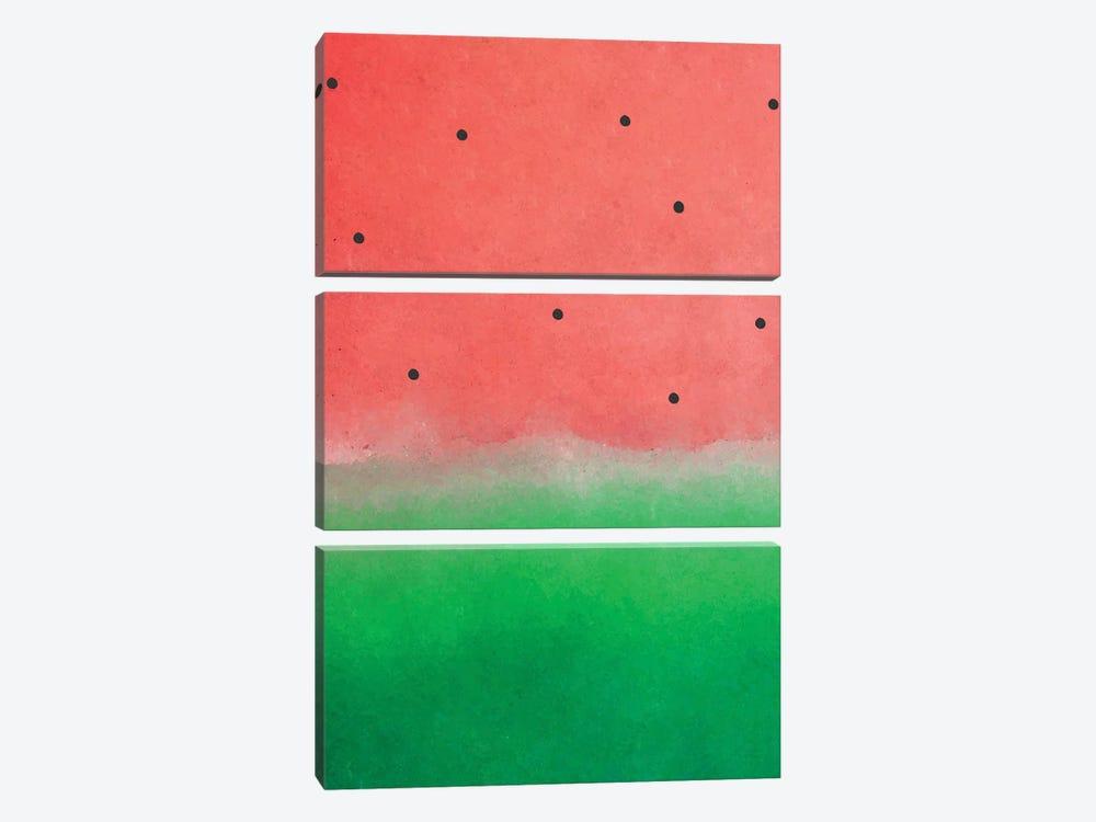 Watermelon Washout by 83 Oranges 3-piece Canvas Art Print