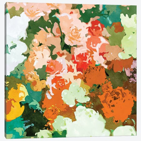 Velvet Floral Canvas Print #UMA800} by 83 Oranges Art Print