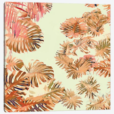 Stay Tropical Canvas Print #UMA807} by 83 Oranges Canvas Artwork