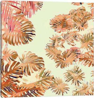 Stay Tropical Canvas Art Print