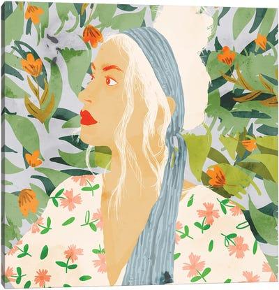 Meera Canvas Art Print