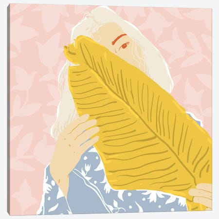Shy Canvas Print #UMA812} by 83 Oranges Canvas Artwork