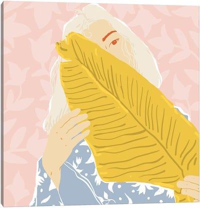 Shy Canvas Art Print