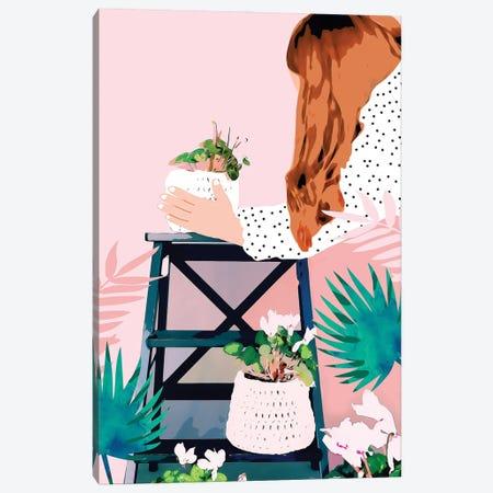 Plant Lady Canvas Print #UMA815} by 83 Oranges Art Print