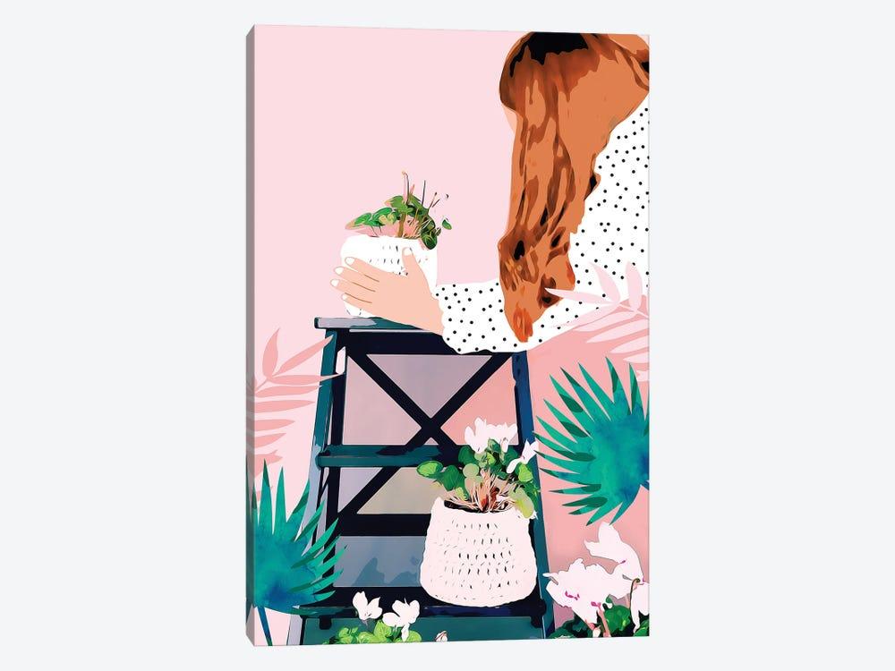 Plant Lady by 83 Oranges 1-piece Canvas Art Print