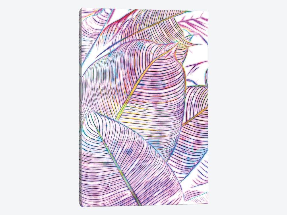 Ultraviolet Banana Leaves by 83 Oranges 1-piece Canvas Artwork