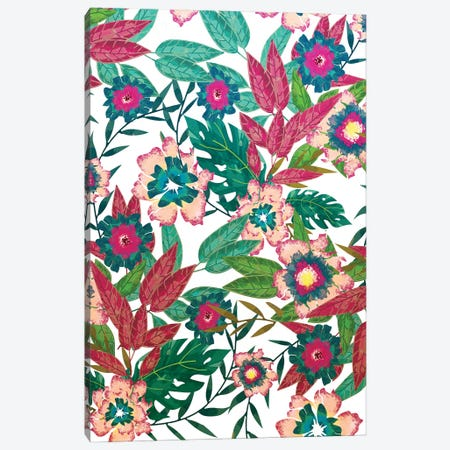 Floral Mood Canvas Print #UMA828} by 83 Oranges Canvas Print
