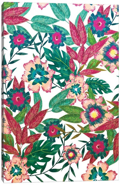 Floral Mood Canvas Art Print