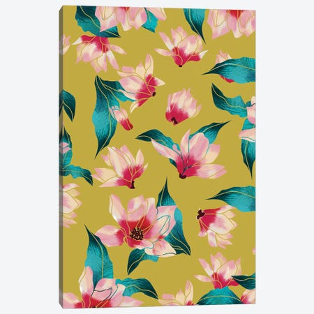 Floral Aura Canvas Print #UMA829} by 83 Oranges Canvas Print