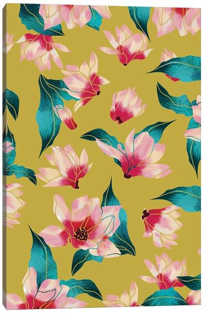 Floral Aura Canvas Art Print