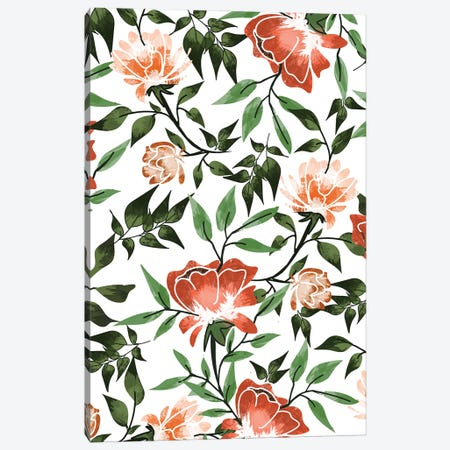 Floral Feels Canvas Print #UMA839} by 83 Oranges Canvas Wall Art
