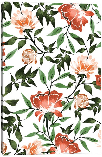 Floral Feels Canvas Art Print