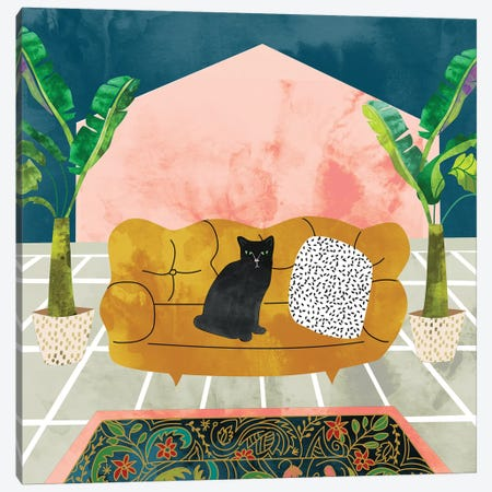 Cat Canvas Print #UMA83} by 83 Oranges Canvas Print