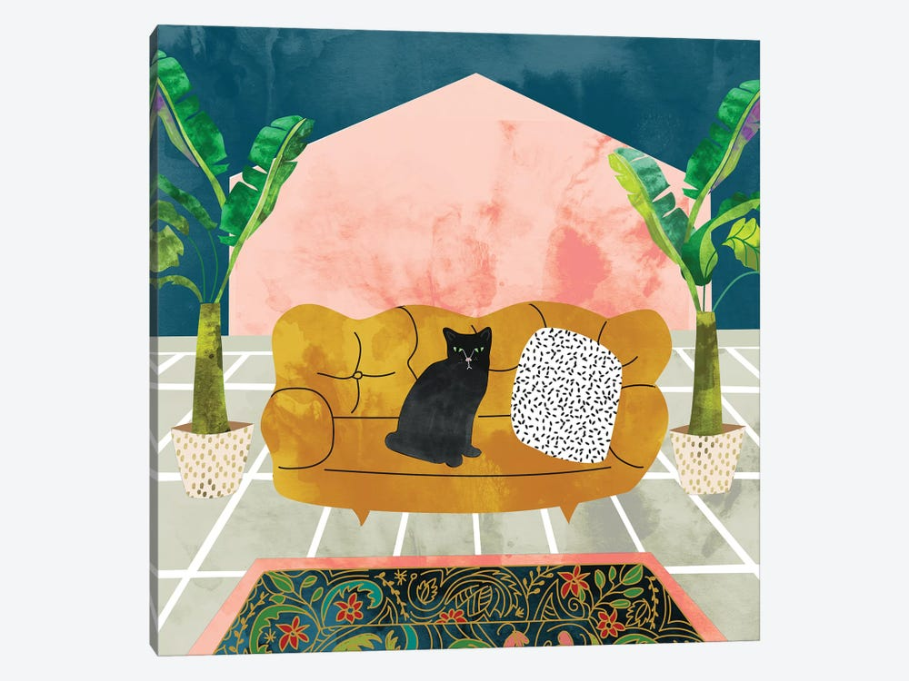 Cat by 83 Oranges 1-piece Canvas Artwork