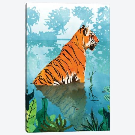 Tiger Creek Canvas Print #UMA843} by 83 Oranges Art Print