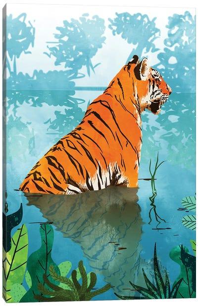 Tiger Creek Canvas Art Print