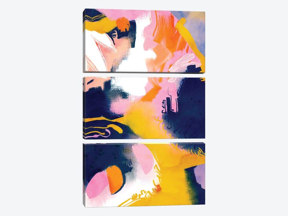 Deep Dream by 83 Oranges 3-piece Canvas Artwork