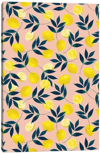 Lemony Goodness Canvas Art Print