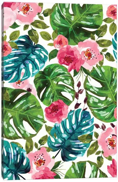Tropical Shades Canvas Art Print