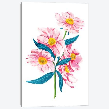 Pink Floral II Canvas Print #UMA852} by 83 Oranges Canvas Artwork