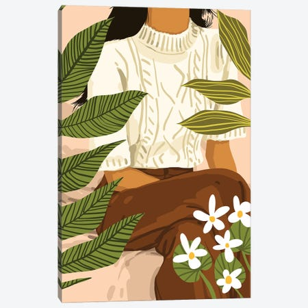 You Grow Girl Canvas Print #UMA861} by 83 Oranges Canvas Print