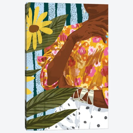 Beauty Has No Skin Tone Canvas Print #UMA863} by 83 Oranges Canvas Print