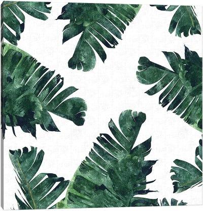Banana Leaf Watercolor Canvas Art Print