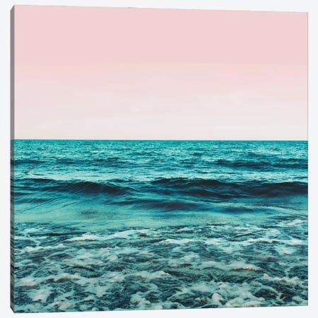 Ocean Love Canvas Print #UMA950} by 83 Oranges Art Print