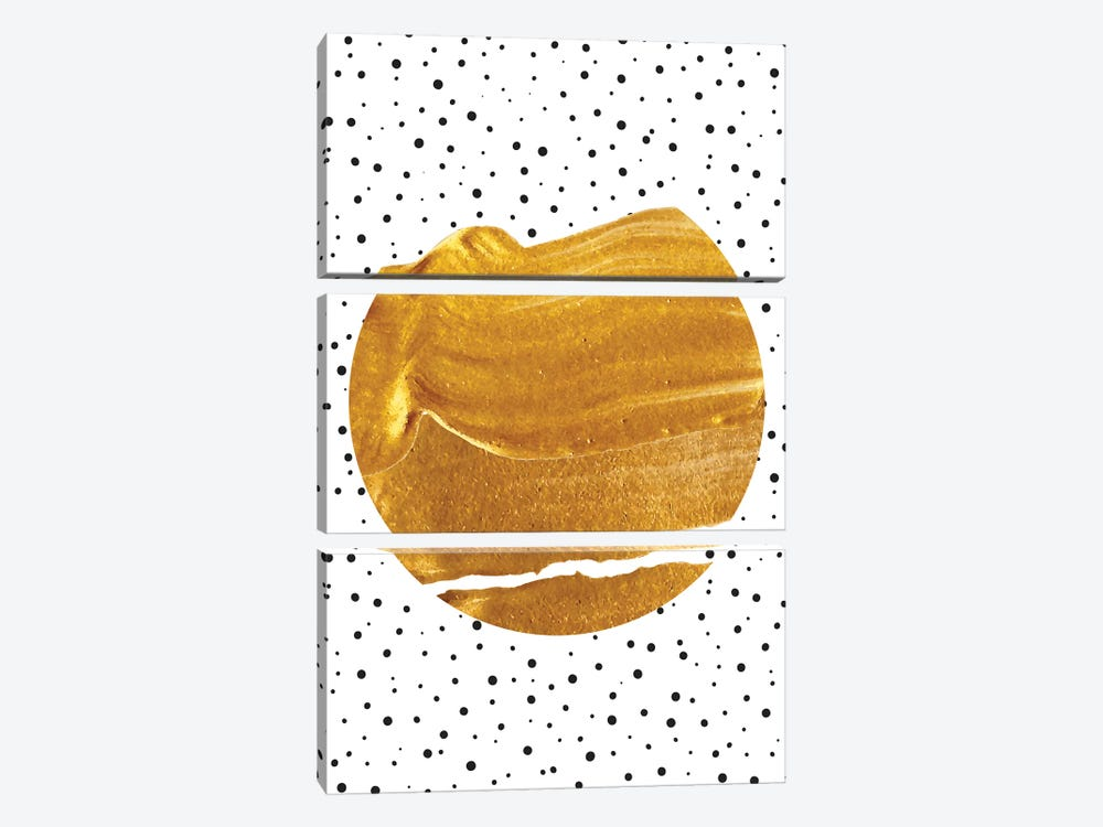 Stay Gold by 83 Oranges 3-piece Art Print