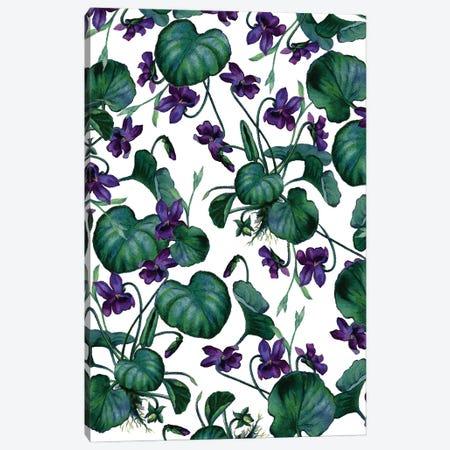 Violets Canvas Print #UMA985} by 83 Oranges Canvas Art Print