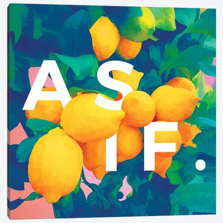 As If Canvas Print #UMA99} by 83 Oranges Canvas Art