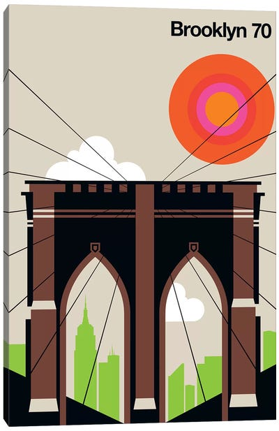 Brooklyn 70 Canvas Art Print