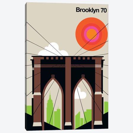 Brooklyn 70 Canvas Print #UND10} by Bo Lundberg Canvas Art Print