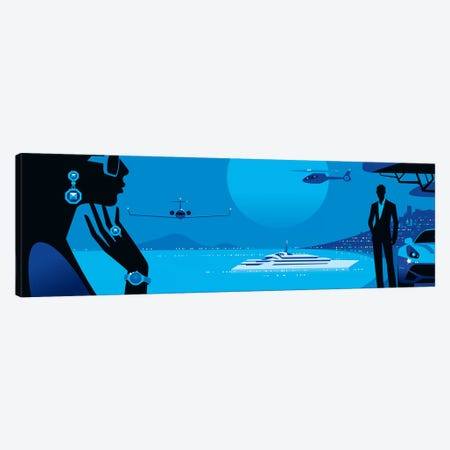 Cannes Canvas Print #UND11} by Bo Lundberg Canvas Print