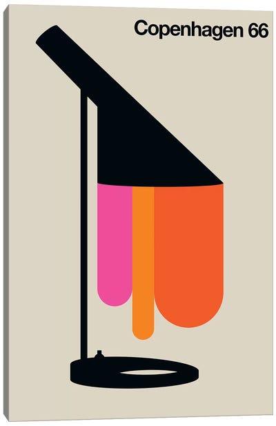 Copenhagen 66 Canvas Art Print
