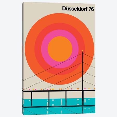 Düsseldorf 76 Canvas Print #UND15} by Bo Lundberg Canvas Artwork