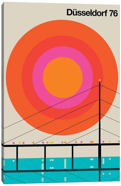 Düsseldorf 76 Canvas Art Print