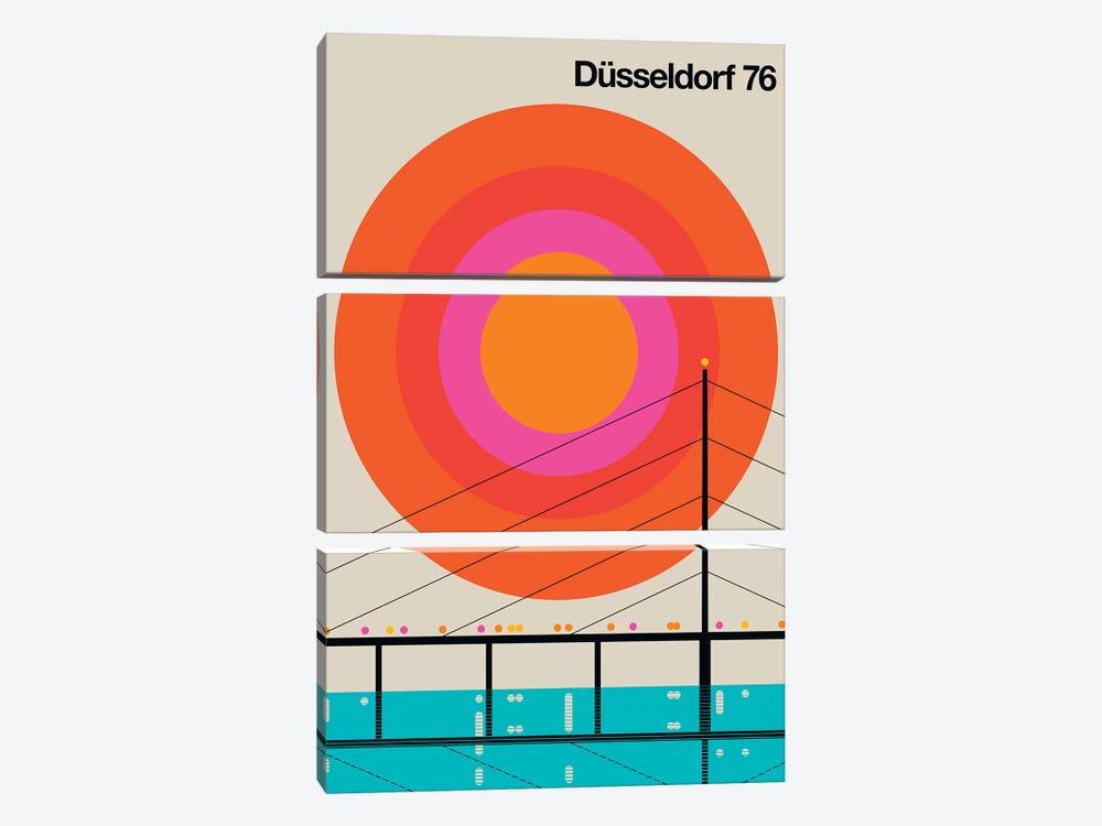 Düsseldorf 76 by Bo Lundberg 3-piece Art Print