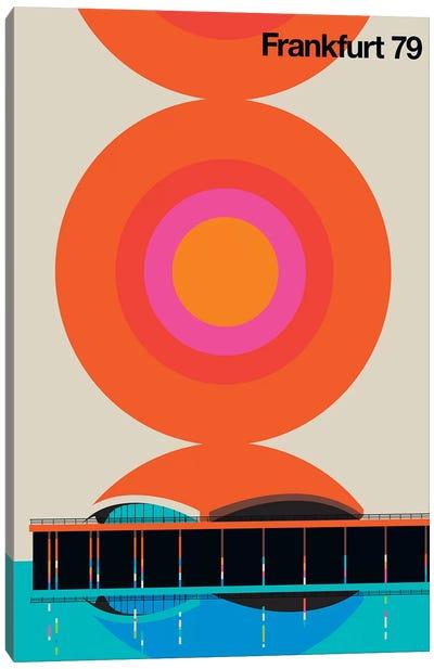 Frankfurt 79 Canvas Art Print